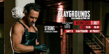 Mister B´s  PLAYGROUNDS (SleazyMadrid GayPride 2019) entradas