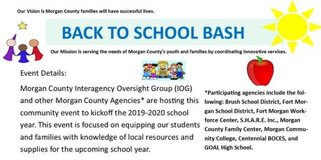 Back to School Bash - Booth Registration tickets