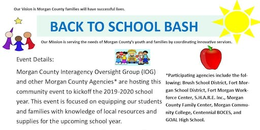 Back to School Bash - Booth Registration