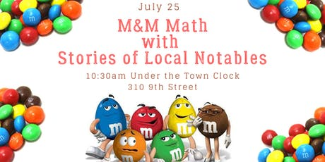 M&M Math with Stories of Local Notables tickets