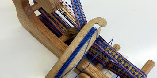 Weaving Bands and Belts - Inkle Loom Workshop