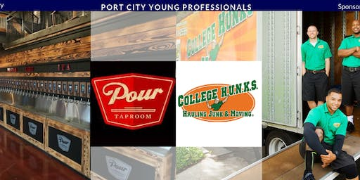 PCYP Networking Social Hosted by Pour Taproom & Sponsored by College Hunks Leland