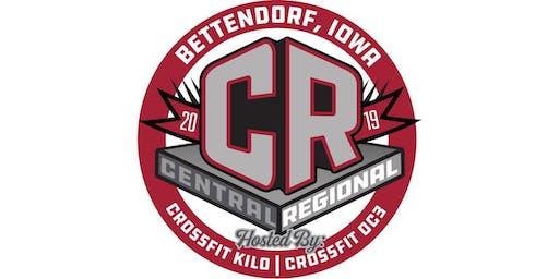 The Central Regional 2019 - Sponsor/Vendor