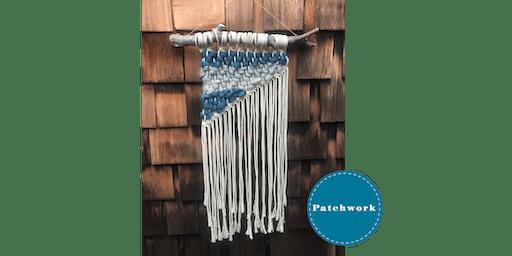 Patchwork Macrame Weaving Wall Hanging Craft Workshop
