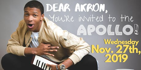 Join Kofi's Akron Bus to the Apollo Theater!  Tickets
