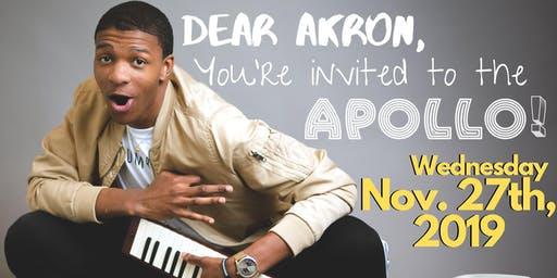 Join Kofi's Akron Bus to the Apollo Theater!