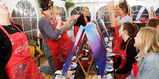 Dance of the Dragonflies Brush Party - Woodstock