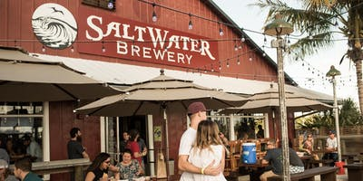 Salty Saturdays: Live Music, Food Trucks, & Beer at Saltwater Brewery