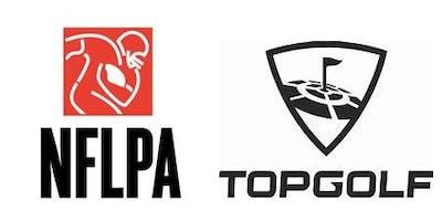 NFLPA Drug Free World Topgolf fundraiser