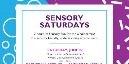 Sensory Saturday ~ Summertime Fun!