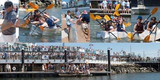 2019 HarborFest Cardboard Kayak Race
