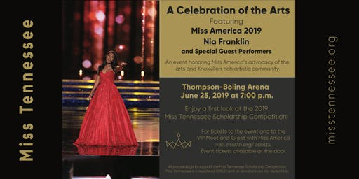 """A Celebration of the Arts"" with Miss America 2019, Nia Franklin"