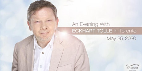 An Evening with Eckhart Tolle in Toronto tickets