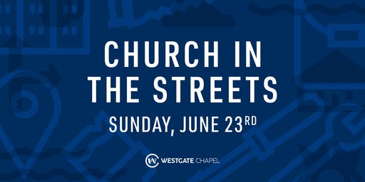 Church in the Streets 2019: Westgate Chapel