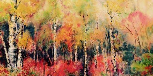 SOLD OUT Easy Watercolor Landscape Techniques Workshop