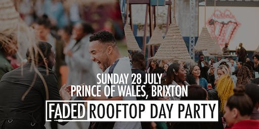 Faded Rooftop Day Party @ POW