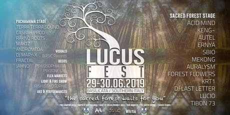 LUCUS Fest 2019 biglietti