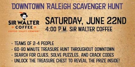 Downtown Raleigh Treasure Hunt - Sir Walter Coffee tickets