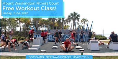 Free Workout Class on the Mount Washington Fitness Court!