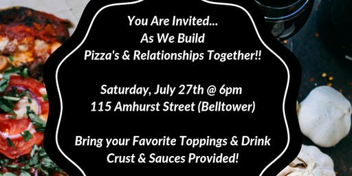 """""""Building Pizza's & Relationships"""" ... Ladies Dinner Party!"""