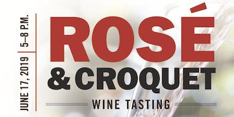 Rose & Croquet tickets