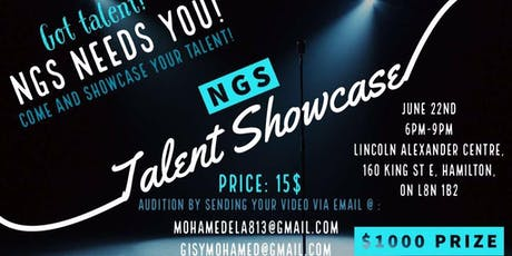 NGS TALENT SHOWCASE tickets