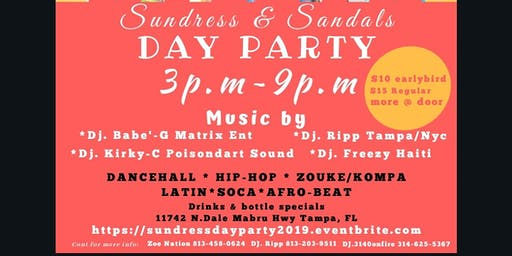 SUNDRESS & SANDALS DAY PARTY