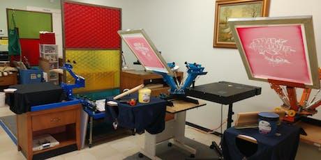 Studio 74 Screen Printing Workshop tickets