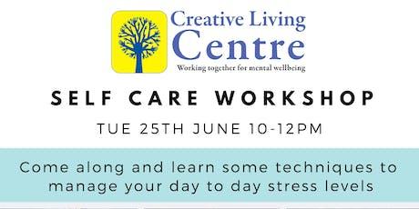 Parent/Carer Self-care Workshop tickets
