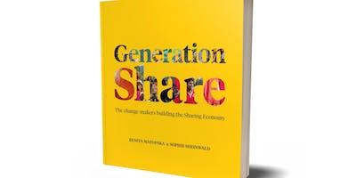 Generation Share World Book Tour, Nottingham, with Benita Matofska and Sophie Sheinwald