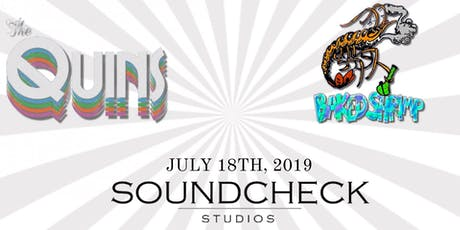 The Quins & Baked Shrimp and Soundcheck Studios tickets