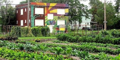 Explore Detroit: Urban Agriculture + Green Space Bus Tour