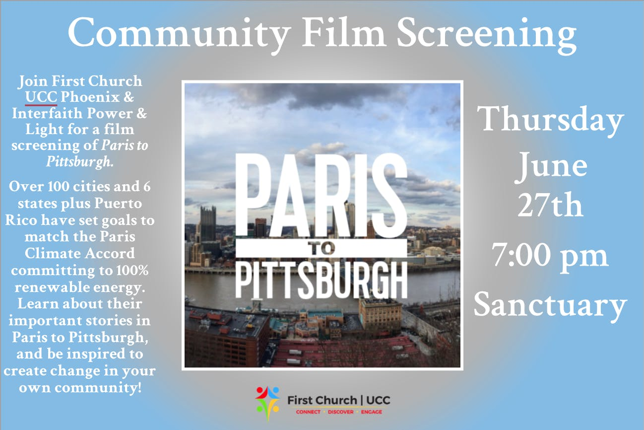 Paris to Pittsburgh Film Screening