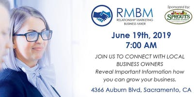 Relationship Marketing Business Mixer - June 2019