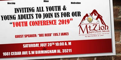 Mt. Zion Baptist Church, Ishkooda Youth Conference 2019