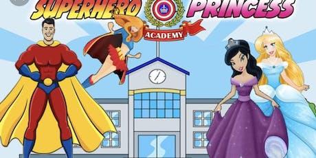 SuperHero & Princess Painting Event tickets
