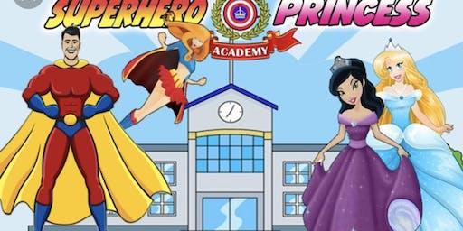 SuperHero & Princess Painting Event