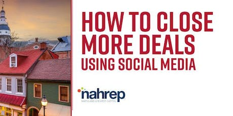 NAHREP Maryland Greater Capital: Social Media's Role in Real Estate tickets