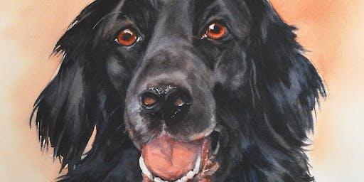 Pet Portraits Watercolor Workshop