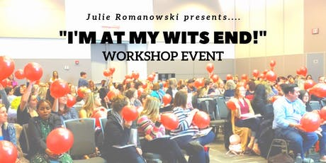 """I'm at my wits end!"" WORKSHOP EVENT on children's behaviour tickets"