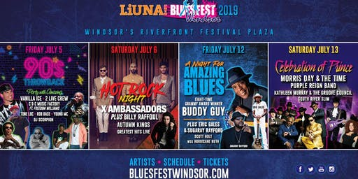 LiUNA! Bluesfest Windsor 2019