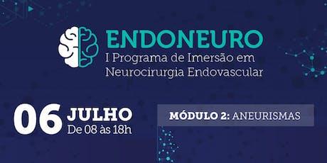 Endoneuro .  I Programa de Imersão em  Neurocirurgia Endovascular ingressos