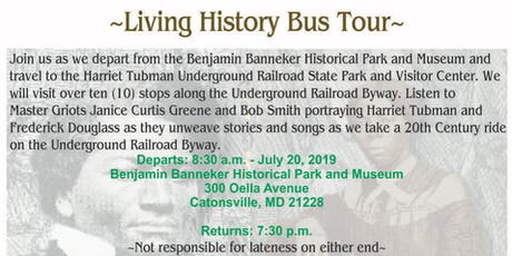 Living History Bus Tour tickets