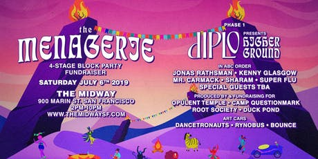The Menagerie: 4-Stage Block Party with Diplo + More tickets