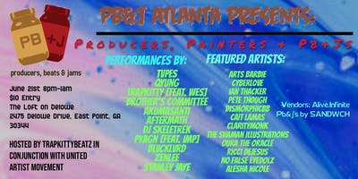 PB&J Atlanta Presents: Producers, Painters  PB&Js