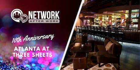 NAW Atlanta 10 Year Anniversary at Three Sheets tickets