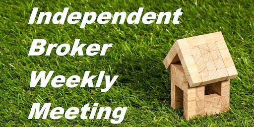 Independent Brokers weekly meeting