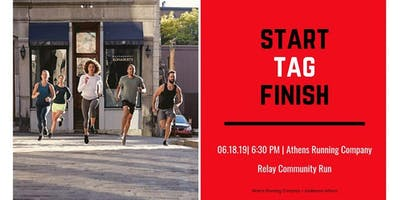 Relay Community Run with ARC + lululemon Athens
