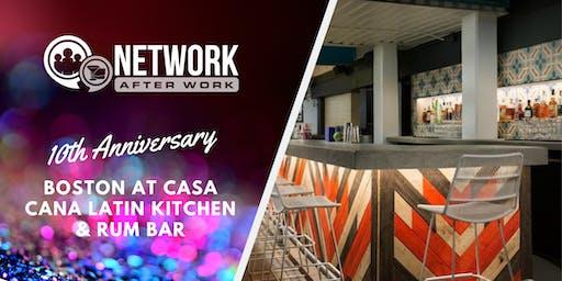 NAW Boston 10 Year Anniversary at Casa Caña Latin Kitchen & Rum Bar