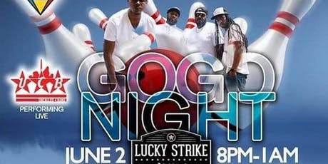 UCB - Uncalled 4 Band GoGo Night @ Lucky Strike DC tickets